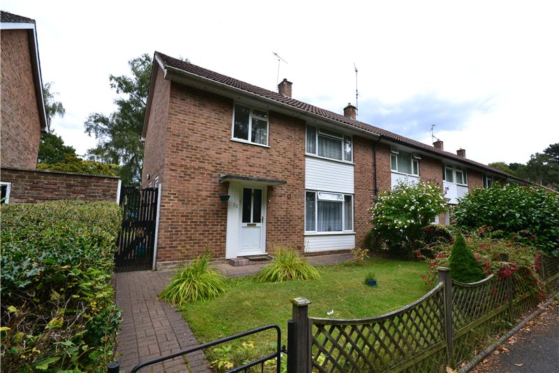 3 Bedrooms End Of Terrace House for sale in Lily Hill Road, Bracknell, Berkshire, RG12