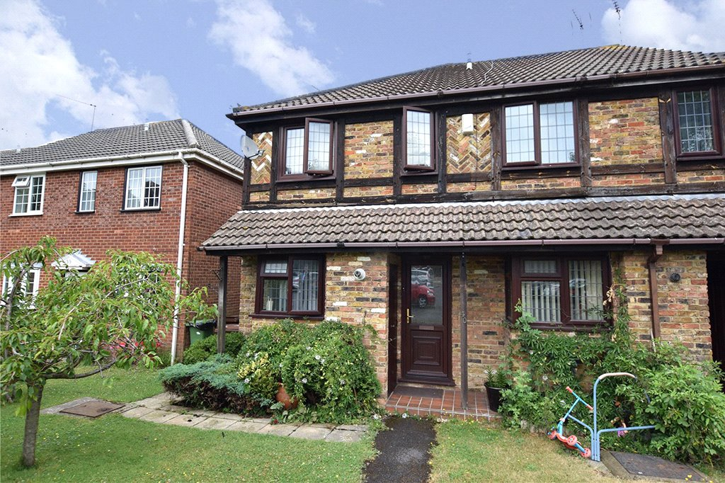 2 Bedrooms End Of Terrace House for sale in Daventry Court, Bracknell, Berkshire, RG42