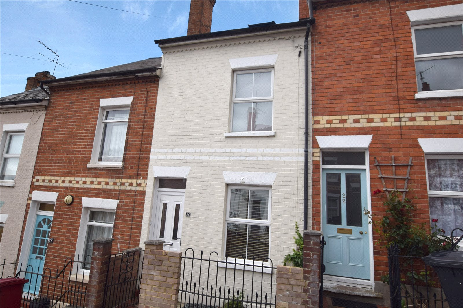 3 Bedrooms Town House for sale in Hill Street, Reading, Berkshire, RG1