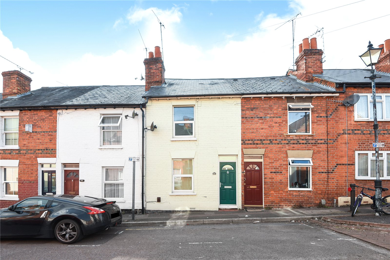 2 Bedrooms Terraced House for sale in Lower Field Road, Reading, Berkshire, RG1