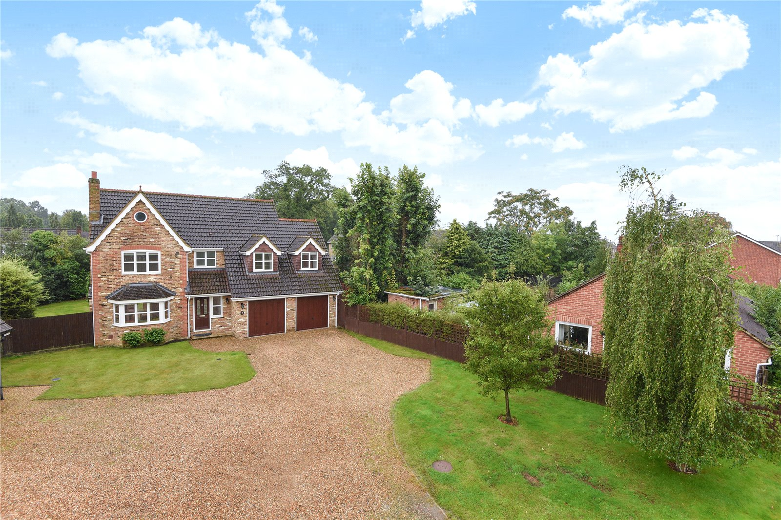 5 Bedrooms Detached House for sale in Lacewood Gardens, Reading, Berkshire, RG2