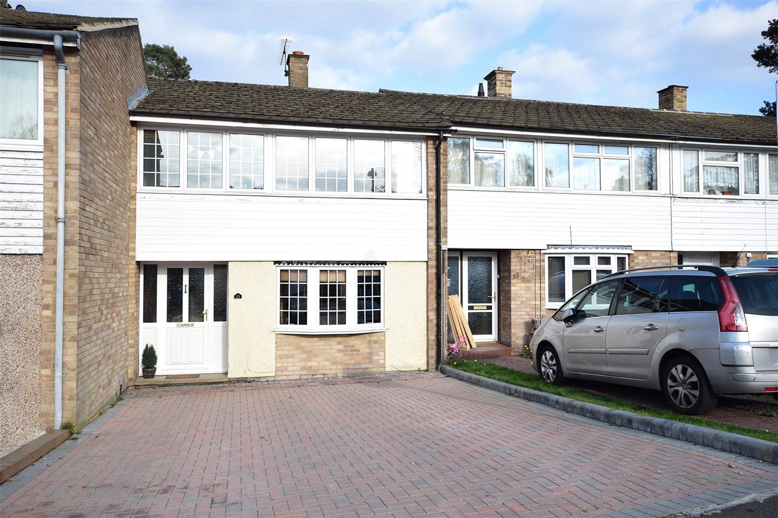3 Bedrooms Terraced House for sale in Uffington Drive, Bracknell, Berkshire, RG12